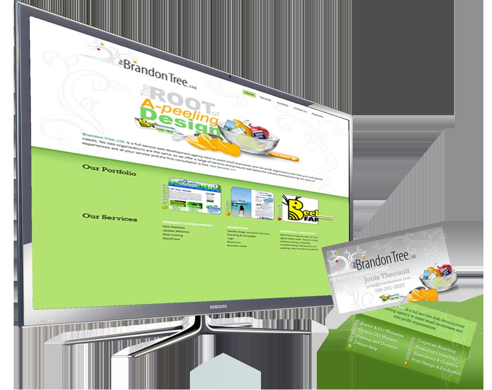 Graphic Web Designer Branding