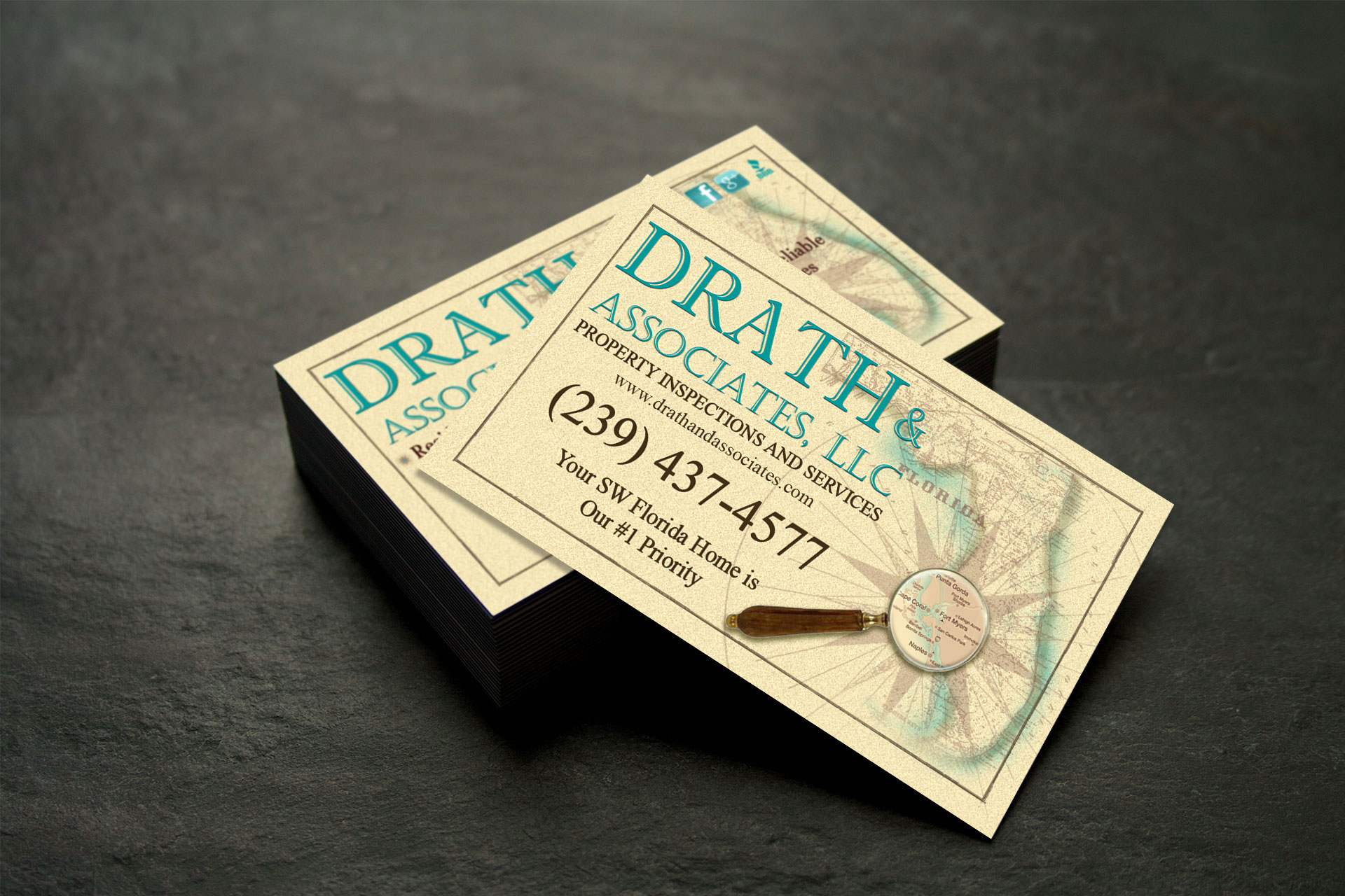 Drath & Associates Business Cards