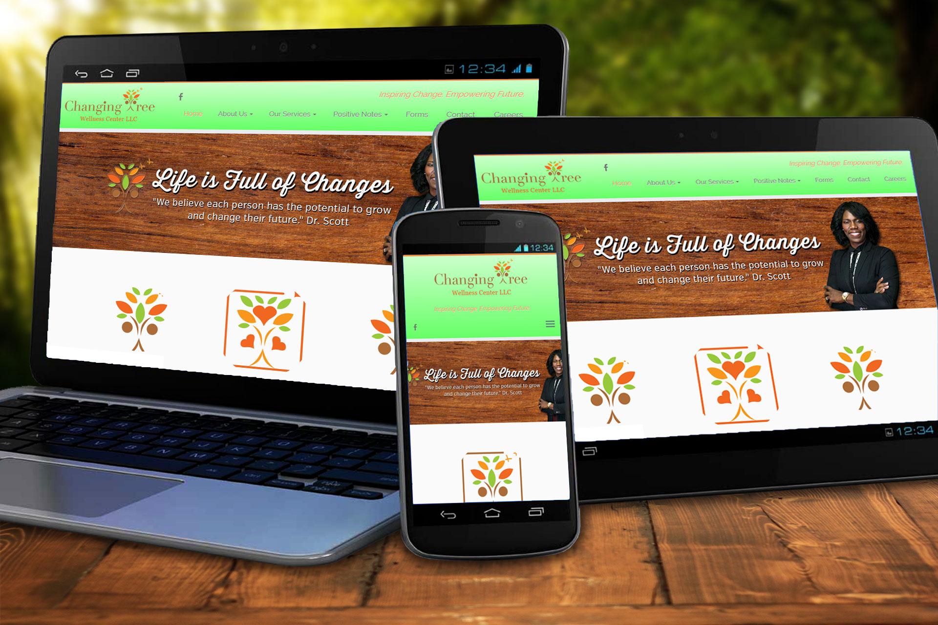 Wellness Center Website