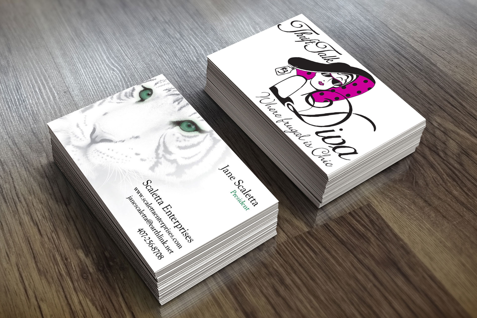 Entrepeneur Business Cards