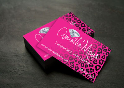 Amintha Business Cards