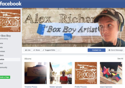 Mr BoxBoy Facebook Page