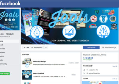 Jools Graphics Facebook Page
