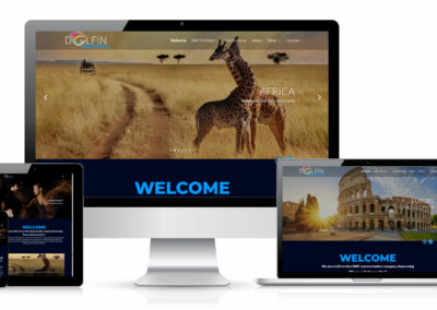 Dolfin Destinations Website Design