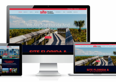 SITE website design