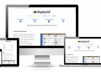 DisplaySoft Website Design
